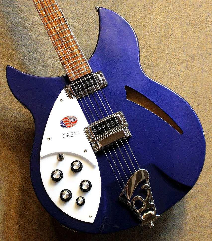 〔新品〕 Rickenbacker 330 Left Hand/Midnight Blue #1630796【レアモデル】【レフティー】【池袋店在庫品】