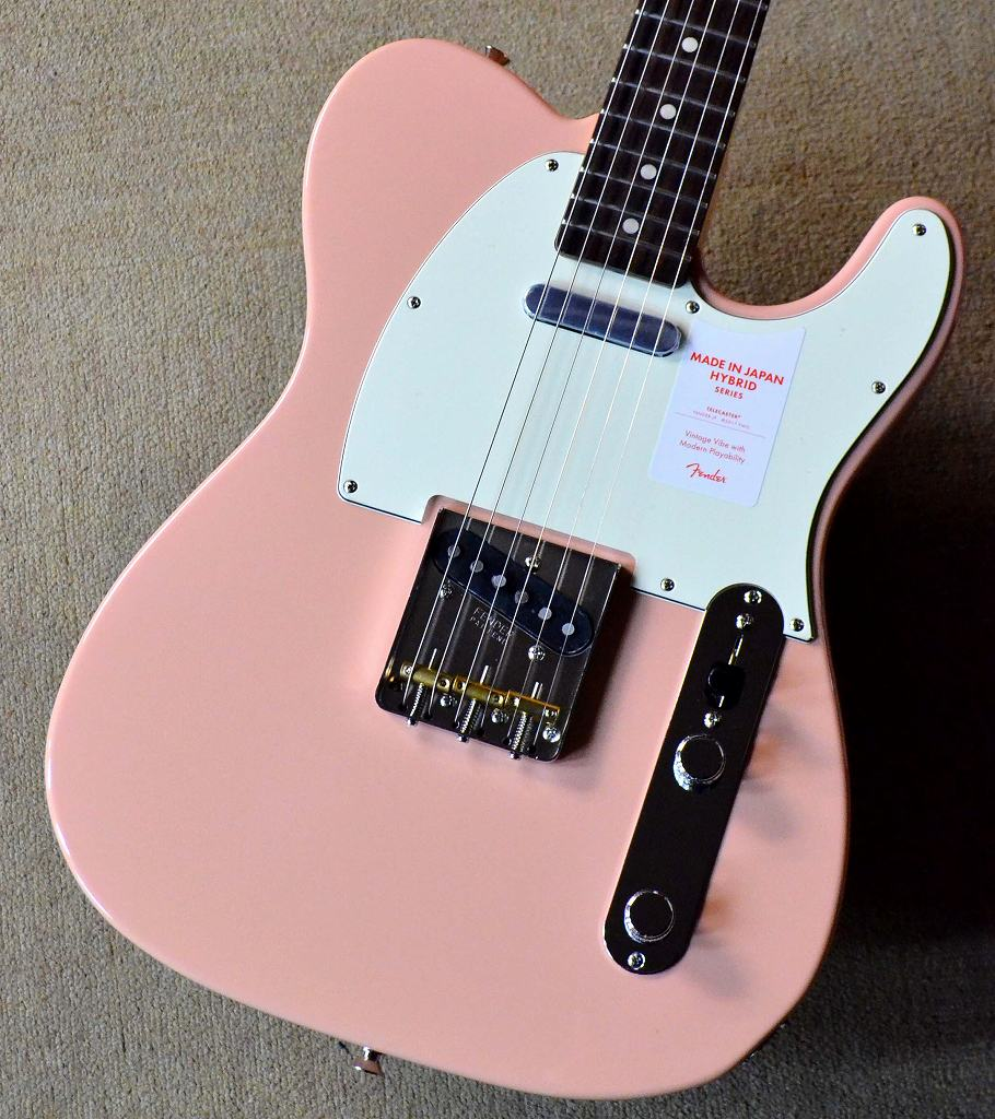 〔新品〕 Fender Made in Japan MIJ Hybrid 60s Telecaster Flamingo Pink 【池袋店在庫品】