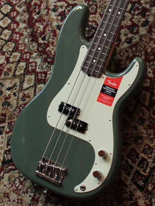 Fender American Professional Precision Bass Antique Olive/R 【新品】【池袋店在庫品】