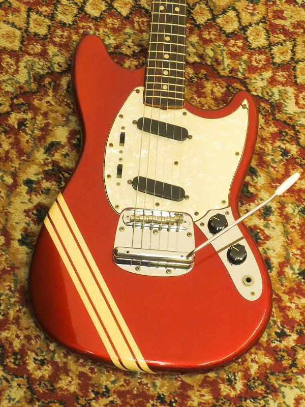 【中古】Fender USA 74 Mustang Competition Red 【ビンテージ】【池袋店在庫品】【used_エレキギター】