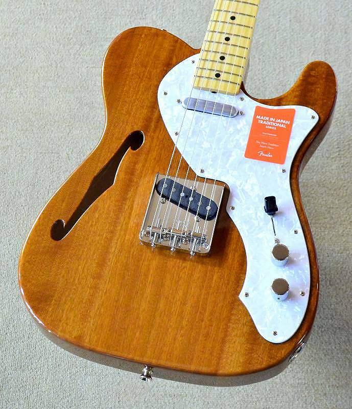 〔新品〕 Fender Made in Japan MIJ Traditional 69 Telecaster Thinline / Natural 【池袋店在庫品】