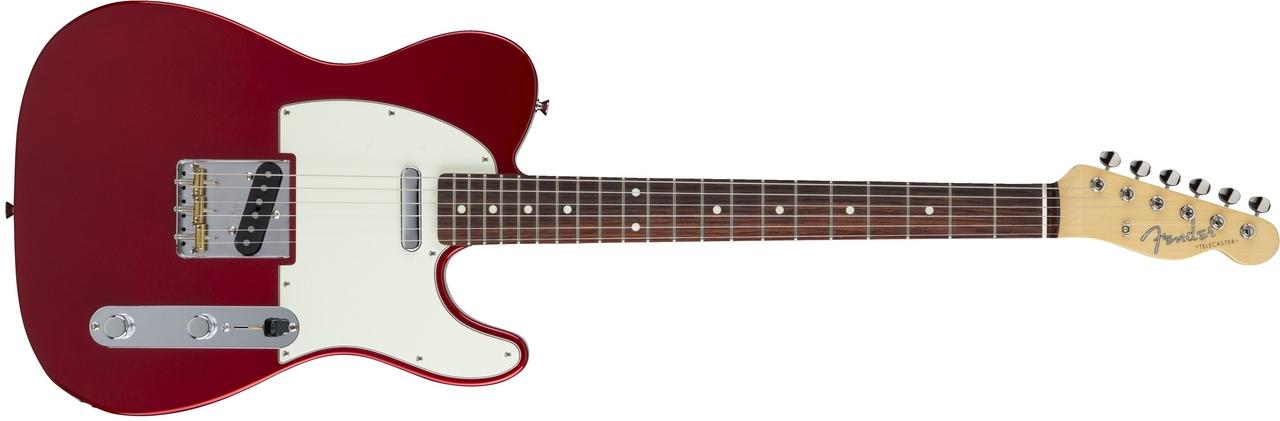 〔新品〕 Fender Made in Japan MIJ Hybrid 60s Telecaster Candy Apple Red【池袋店取り寄せ品】