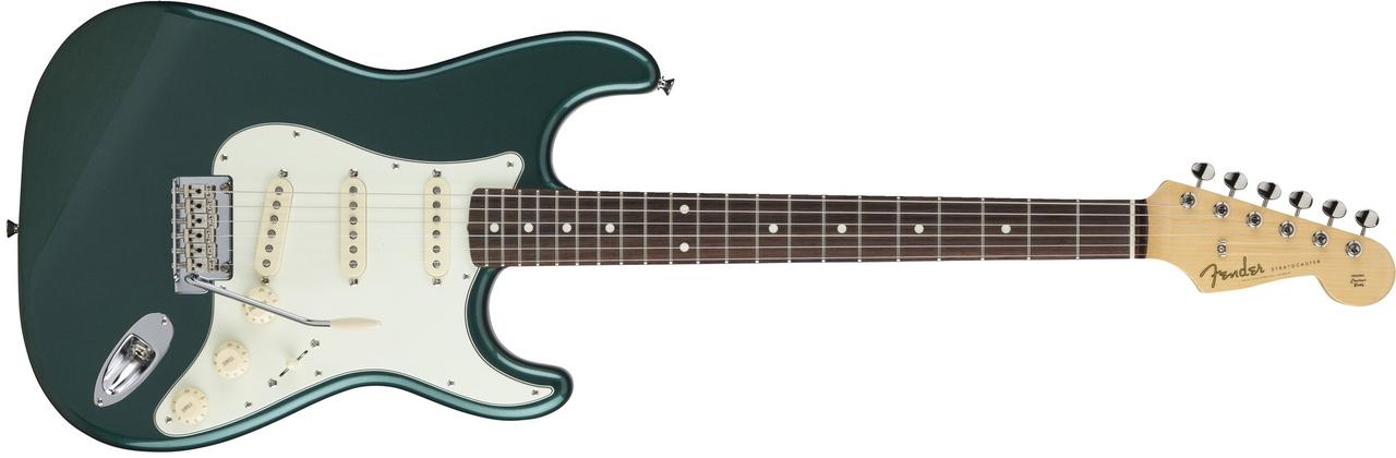 〔新品〕 Fender Made in Japan MIJ Hybrid 60s Stratocaster Sherwood Green Metallic【池袋店取り寄せ品】