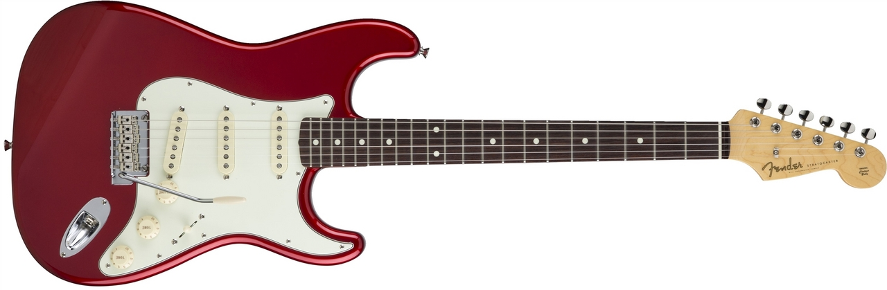 〔新品〕 Fender Made in Japan MIJ Hybrid 60s Stratocaster Candy Apple Red【池袋店取り寄せ品】