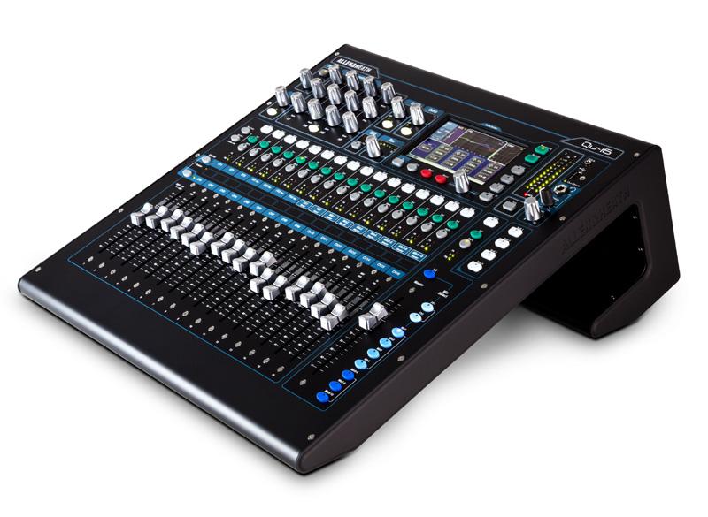 Allen & Heath Digital Mixer QU-16 《デジタルミキサー》【送料無料】【ONLINE STORE】