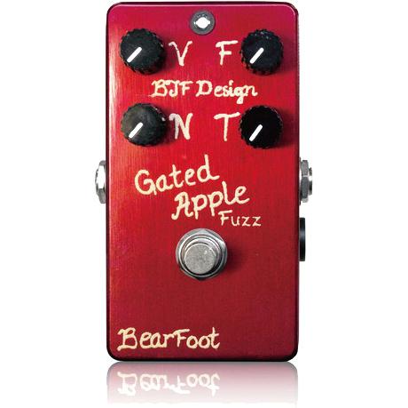 BearFoot Guitar Effects Gated Apple Fuzz《エフェクター/ファズ》【送料無料】(納期未定・ご予約受付中)【ONLINE STORE】