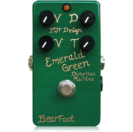 BearFoot Guitar Effects Emerald Green Distortion Machine《エフェクター/ディストーション》【送料無料】【ONLINE STORE】