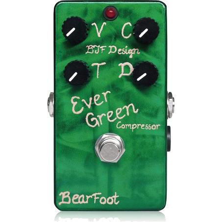 BearFoot Guitar Effects Ever Green Compressor《エフェクター/コンプレッサー》【送料無料】【ONLINE STORE】