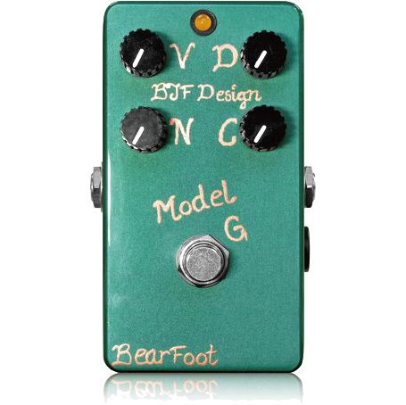 BearFoot Guitar Effects Model G《エフェクター/オーバードライブ》【送料無料】【ONLINE STORE】