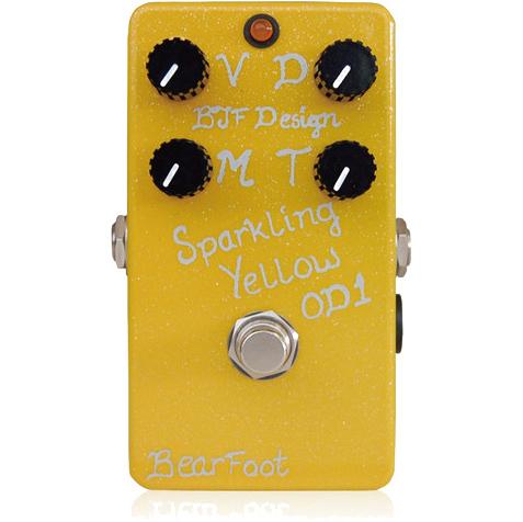 BearFoot Guitar Effects Sparkling Yellow OD 1《エフェクター/オーバードライブ》【送料無料】【ONLINE STORE】
