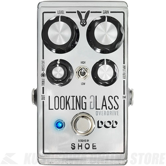 DOD Looking Glass Overdrive 《エフェクター/オーバードライブ》【送料無料】(納期未定・ご予約受付中)【ONLINE STORE】