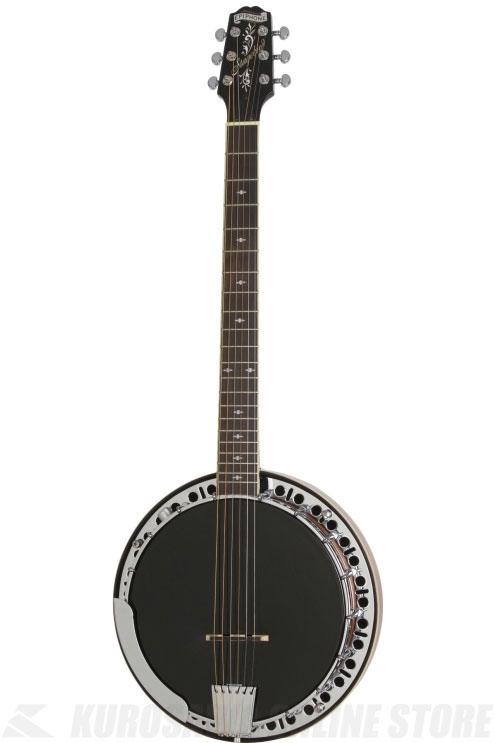 Epiphone STAGEBIRD Banjo (6-string; Electric)[EFB6MRCH1]《6弦バンジョー》【送料無料】(ご予約受付中)【ONLINE STORE】