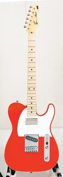 ESP RON WOOD SIGNATURE MODEL (Fiesta Red)【送料無料】【受注生産品】【ONLINE STORE】