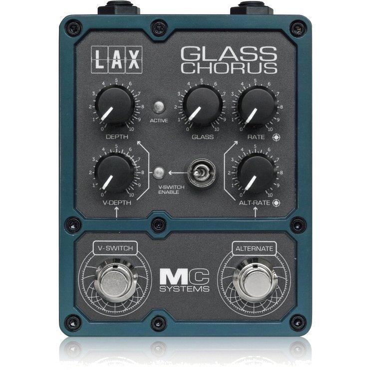 MC Systems LAX Glass Chorus《エフェクター/コーラス》【送料無料】【ONLINE STORE】