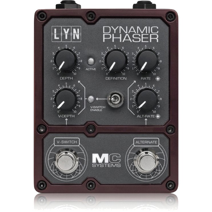 MC Systems LYN Dynamic Phaser《エフェクター/フェイザー》【送料無料】【ONLINE STORE】