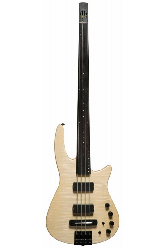NS Design RADIUS4 Bass Fletless(Naturall Satin)《フレットレスベース》【送料無料】【ONLINE STORE】