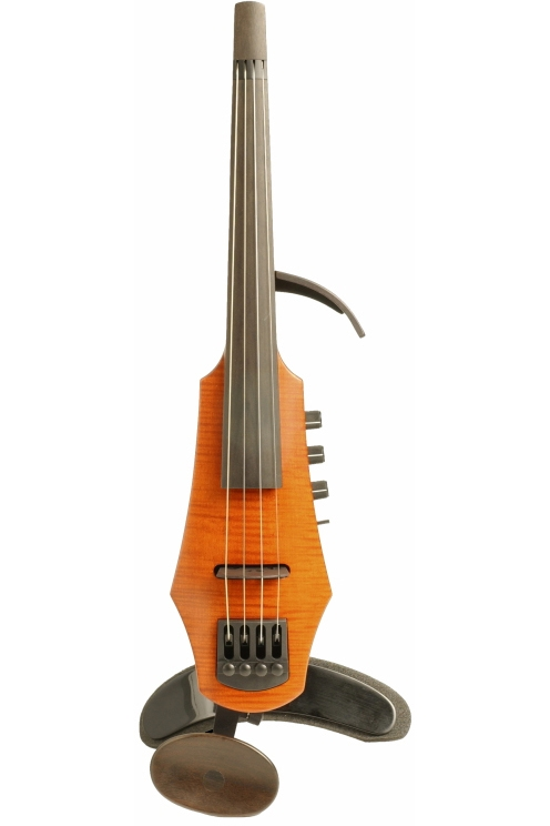 NS Design CR4-AM CR Violin 4st Amber Solid-body, Polar PU, Dual Mode Preamp 《エレキバイオリン》 【送料無料】【ONLINE STORE】