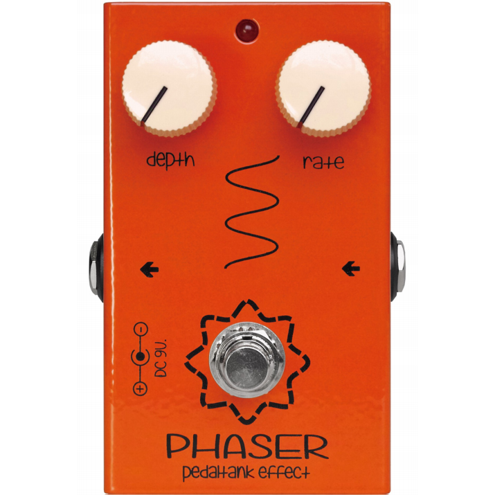 Pedal Tank Phaser《エフェクター/フェイザー》【送料無料】【ONLINE STORE】