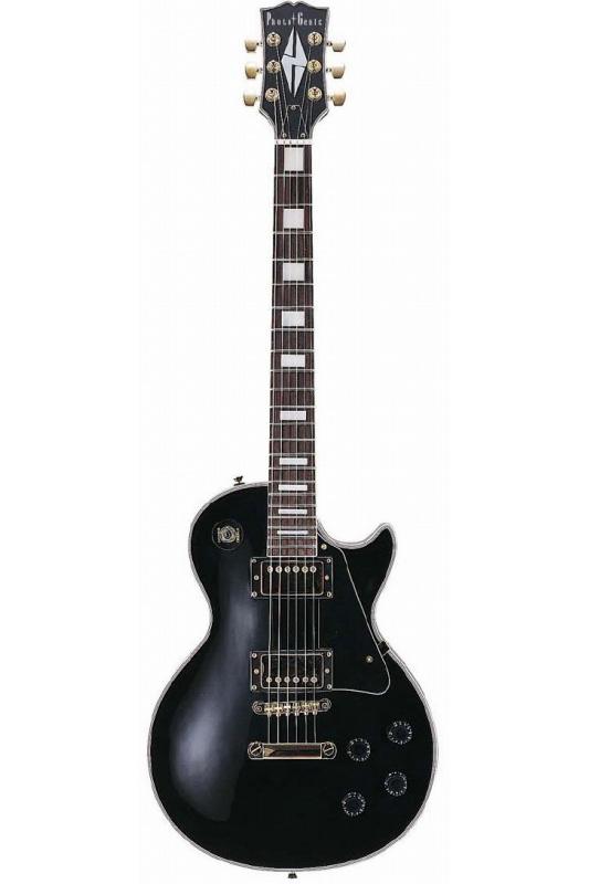 Photogenic LP-300/BK (Black)《エレキギター》【送料無料】【入門用・初心者に人気!】 [LP-300]【ONLINE STORE】