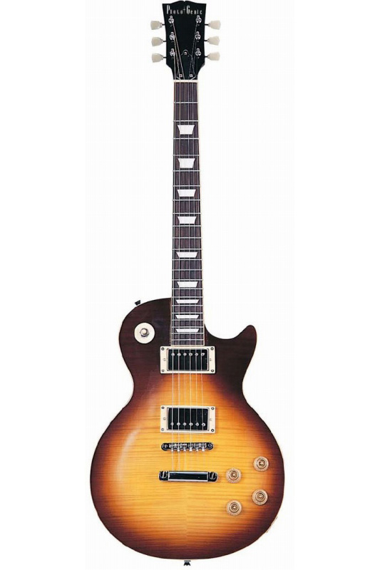 Photogenic LP-380/BS (Brown Sunburst)《エレキギター》【送料無料】【入門用・初心者に人気!】 [LP-380]【ONLINE STORE】