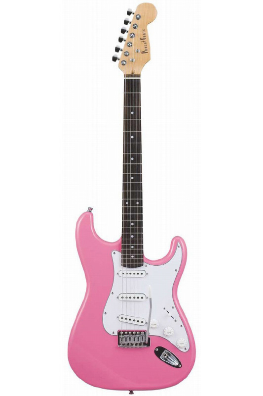 Photogenic ST-180/PK (Pink)《エレキギター》【送料無料】【入門用・初心者に人気!】 [ST-180]【ONLINE STORE】