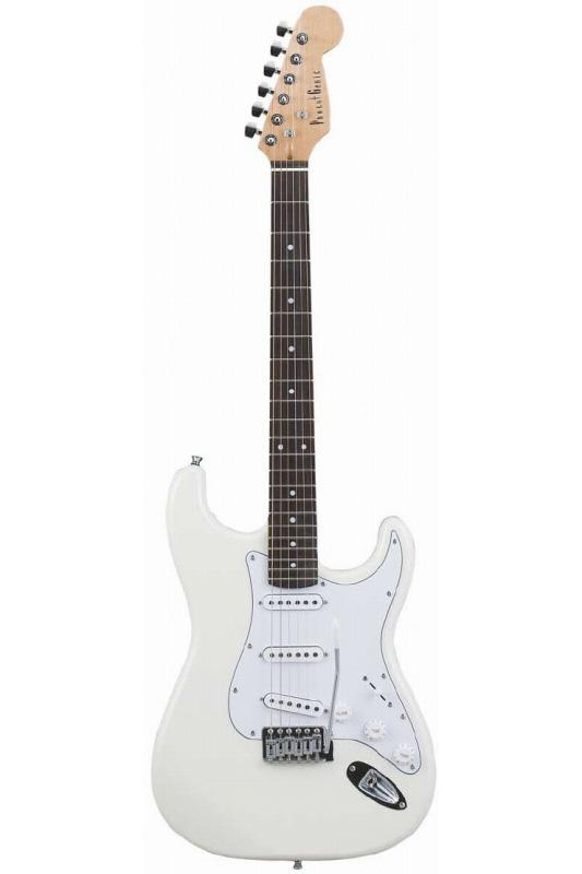 Photogenic ST-180/WH (White)《エレキギター》【送料無料】【入門用・初心者に人気!】 [ST-180]【ONLINE STORE】