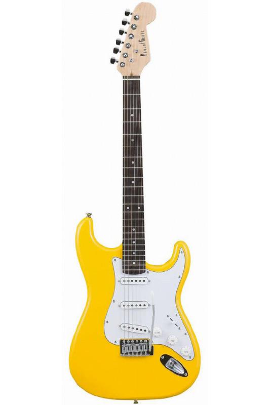 Photogenic ST-180/YW (Yellow)《エレキギター》【送料無料】【入門用・初心者に人気!】 [ST-180]【ONLINE STORE】