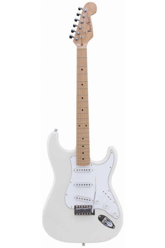 Photogenic ST-180M/WH (White)《エレキギター》【送料無料】【入門用・初心者に人気!】 [ST-180M]【ONLINE STORE】