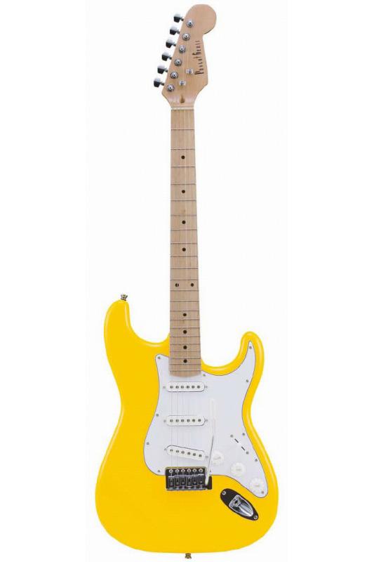 Photogenic ST-180M/YW (Yellow)《エレキギター》【送料無料】【入門用・初心者に人気!】 [ST-180M]【ONLINE STORE】