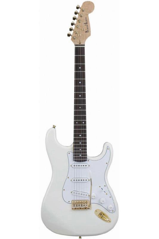 Photogenic STG-200/WH (White)《エレキギター》【送料無料】【入門用・初心者に人気!】 [STG-200]【ONLINE STORE】