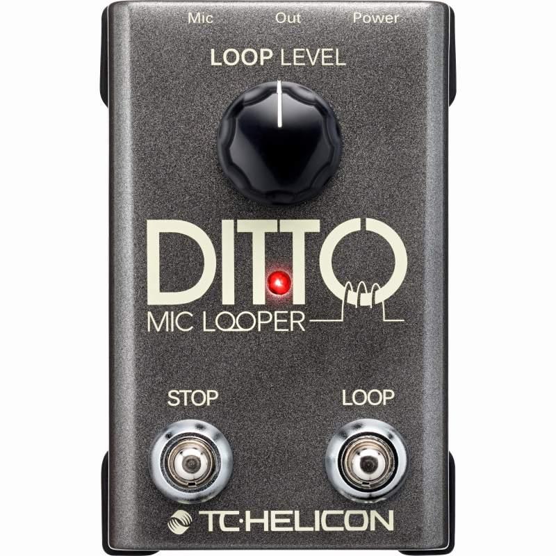TC HELICON Ditto Mic Looper (エフェクター/2ボタン・マイクルーパー)(送料無料)(マンスリープレゼント)【ONLINE STORE】