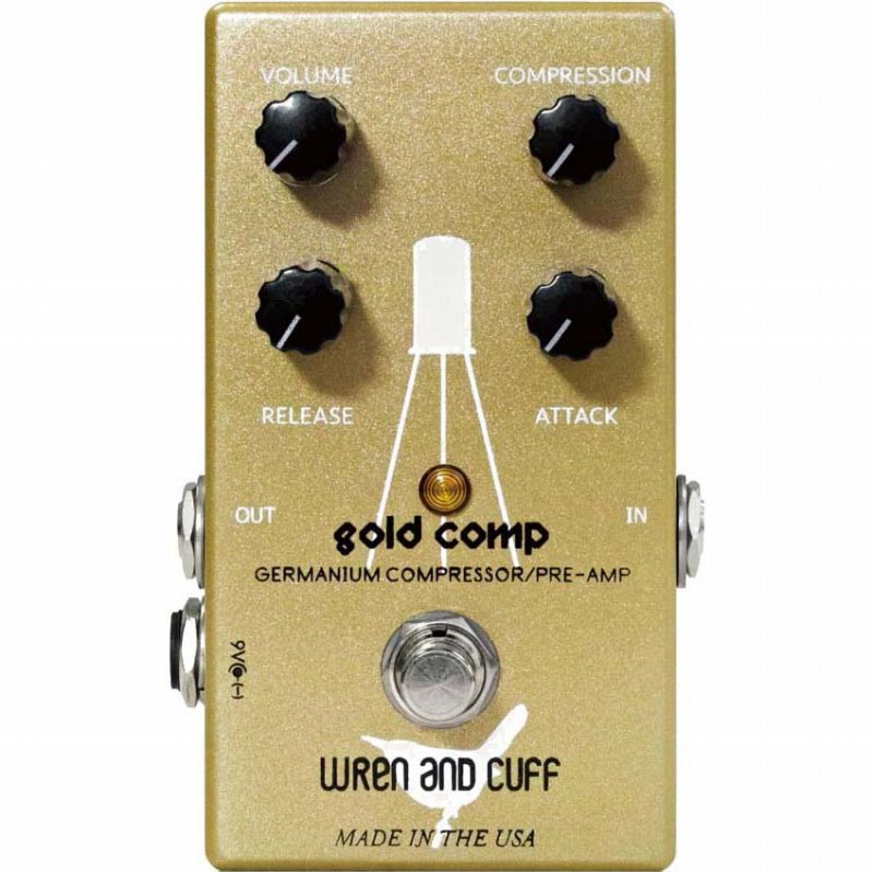 Wren and Cuff Creations Gold Comp《エフェクター/コンプレッサー》【送料無料】【ONLINE STORE】