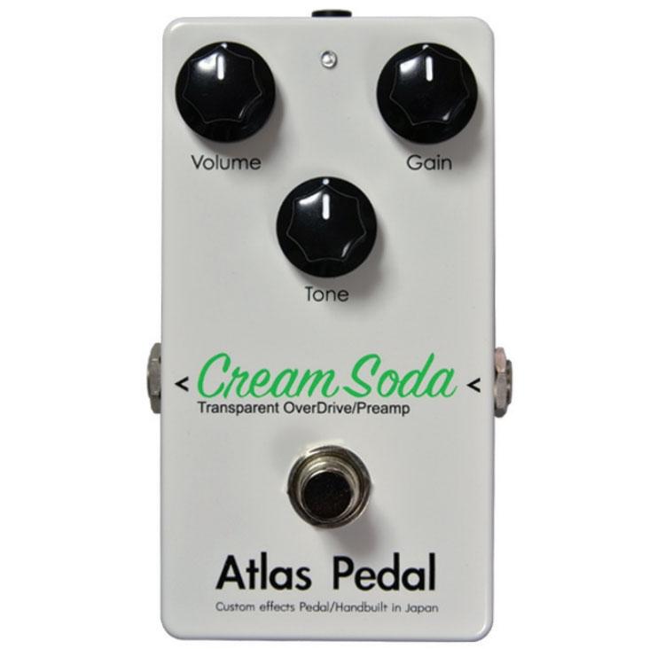Atlas Pedal Cream Soda《エフェクター/オーバードライブ/プリアンプ》【送料無料】(受注生産)(ご予約受付中)【ONLINE STORE】