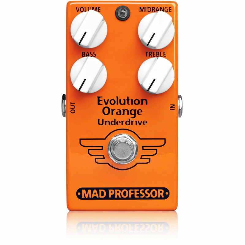 Mad Professor NEW Evolution Orange Orange Underdrive 《エフェクター/オーバードライブ、ブースター Evolution NEW、プリアンプ、EQ》【送料無料】【ONLINE STORE】, 舞阪町:14ebf4fc --- yogabeach.store