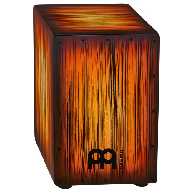 Meinl Headliner Designer Series String Cajons Tiger Striped, Amber [HCAJ2AMTS]《カホン》【送料無料】【ONLINE STORE】