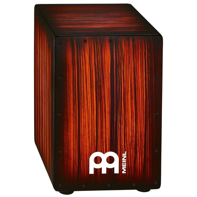 Meinl Headliner Designer Series String Cajons Tiger Striped, Rojo [HCAJ2RTS]《カホン》【送料無料】【ONLINE STORE】