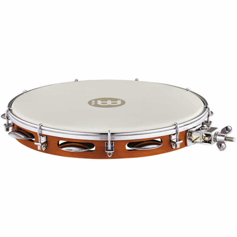 Meinl Traditional Wood Pandeiro With Holder Chestnut [PA12CN-M-TF-H]《パンデイロ》【送料無料】【ONLINE STORE】