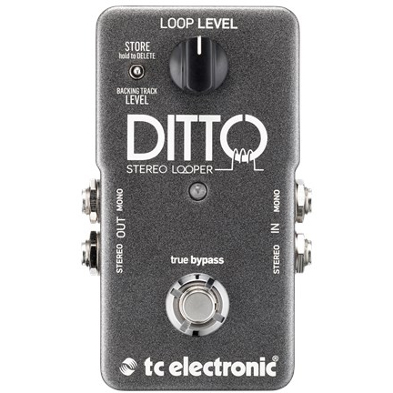 TC ELECTRONIC Ditto Stereo Looper (エフェクター/ステレオ・ルーパー)(送料無料)(ご予約受付中)【ONLINE STORE】