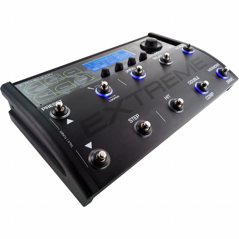 TC HELICON VoiceLive 3 Extreme (エフェクター/ボーカル&ギター用マルチエフェクト + ルーパー)【送料無料】【G-CLUB渋谷】
