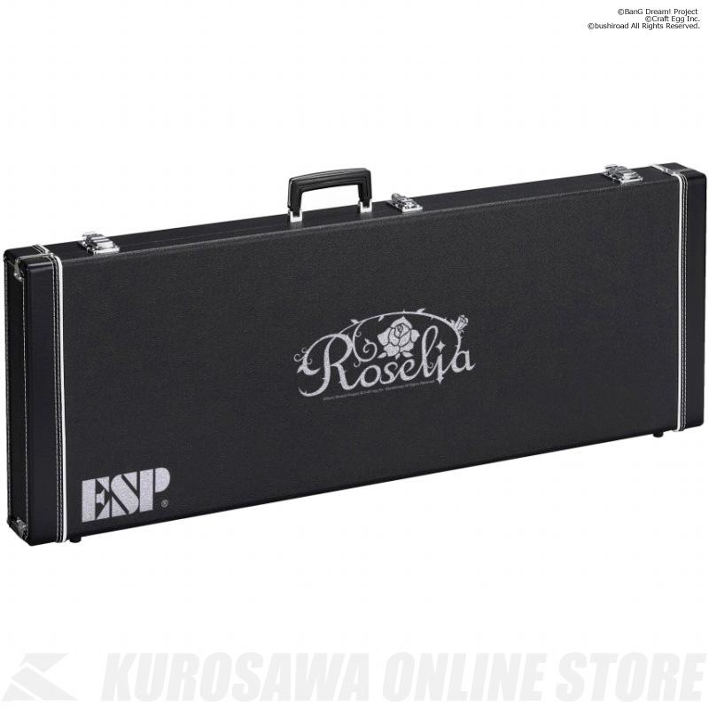 BanG Dream! ESP×バンドリ! ガールズバンドパーティ!Roselia HC-400 ROSELIA-G (ギター用ハードケース )(送料無料)(受注生産品) 【ONLINE STORE】
