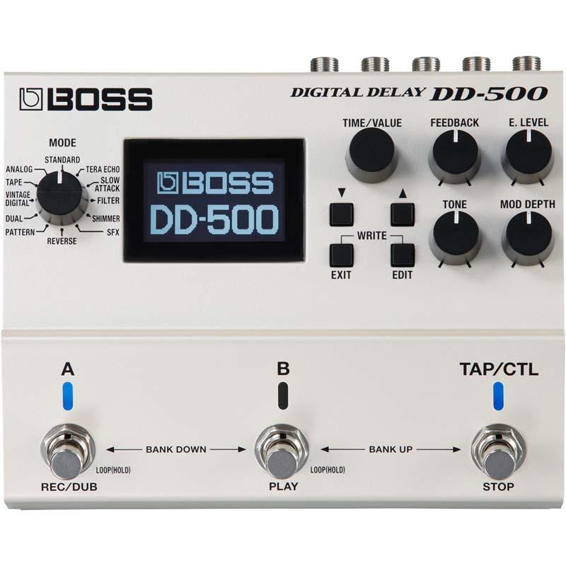 BOSS DD-500 Digital Delay 《エフェクター/デジタルディレイ》【送料無料】【ONLINE STORE】