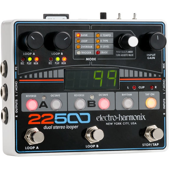 Electro Harmonix 22500 Dual Stereo Looper 《エフェクター/ステレオルーパー》【送料無料】【ご予約受付中】【G-CLUB渋谷】