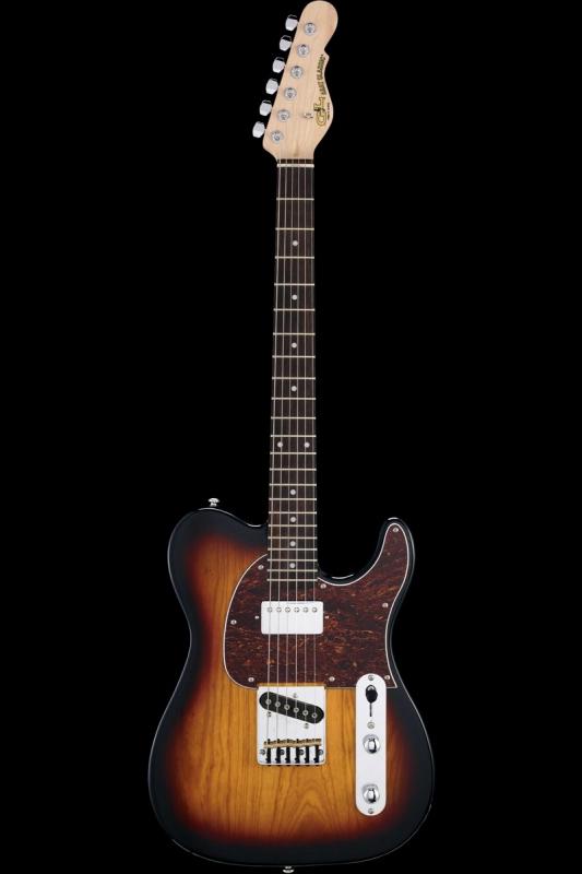 G&L Tribute ASAT Classic Bluesboy(3-Tone Sunburst / Rosewood)《エレキギター》【送料無料】【ONLINE STORE】