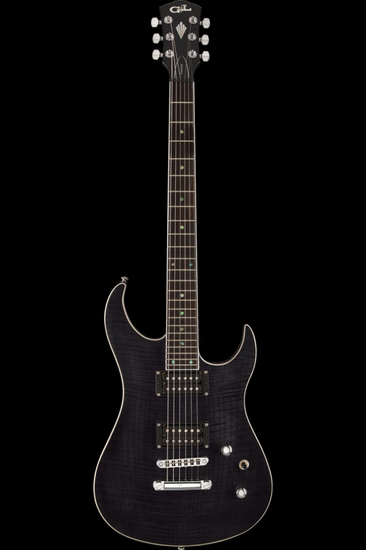 G&L Tribute Fiorano GTS(Trans Black / Rosewood)《エレキギター》【送料無料】【ONLINE STORE】