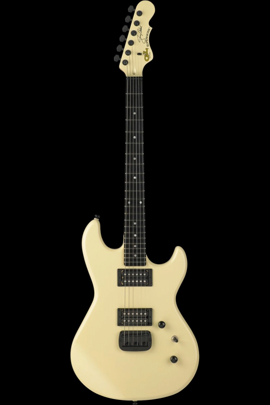 G&L Tribute Superhawk Jerry Cantrell Signature(Ivory / Ebony)《エレキギター》【送料無料】【ONLINE STORE】【ご予約受付中】