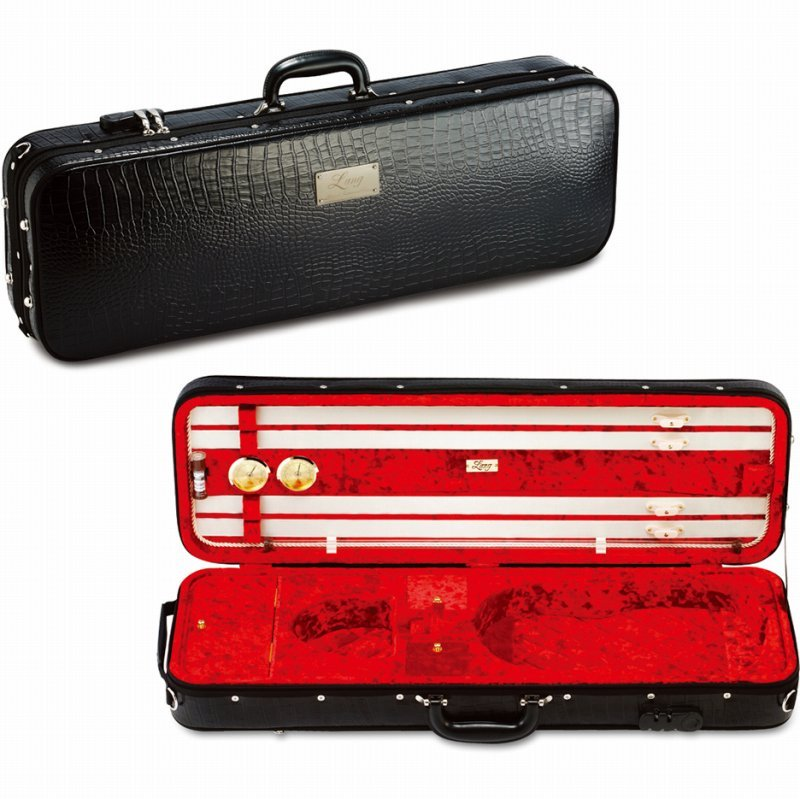 バイオリンケース 《ラング》 Lang SAシリーズ SA-57:外装:ブラック 内装:バーガンディ STORE 《バイオリンケース》 ONLINE お買得 ご予約受付中 《週末限定タイムセール》 送料無料