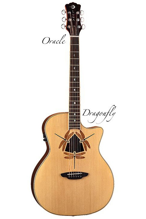 Luna Guitars Oracle Folk Guitars Oracle Dragonfly[OCL DFY]《アコースティックギター/エレアコ》【送料無料】【ONLINE STORE】