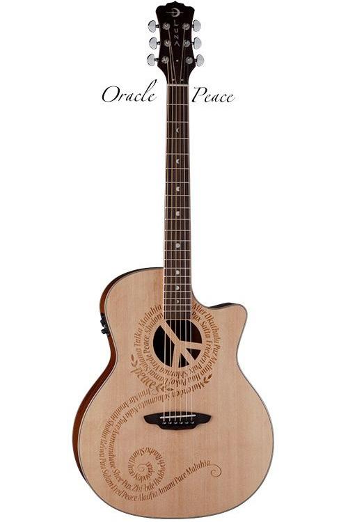 Luna Guitars Oracle Grand Concert Guitars Oracle Peace[OCL PCE]《アコースティックギター/エレアコ》【送料無料】【ONLINE STORE】