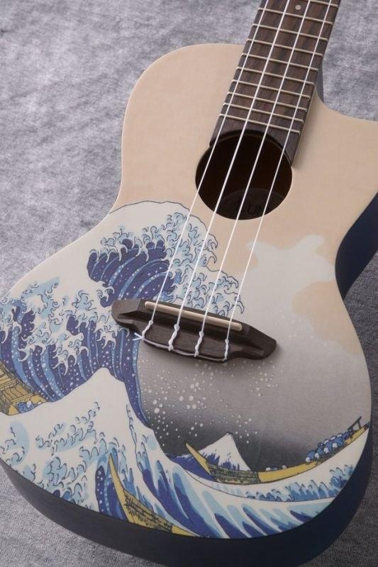 Luna Guitars Artistic Great Wave Concert [UKE GWC]《コンサートウクレレ》【送料無料】(ご予約受付中)【ONLINE STORE】