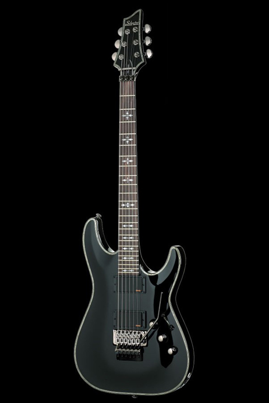 Schecter Diamond Series Hellraiser C-1FR (Gross Black) [AD-C-1-FR-HR / BLK] 《エレキギター》【送料無料】【ONLINE STORE】
